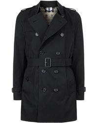 Burberry - Kensington Mid-length Heritage Trench Coat - Lyst