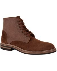 Brunello Cucinelli   Lace Up Military Boots   Lyst