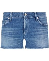 Citizens of Humanity - Ava Mid-rise Shorts - Lyst