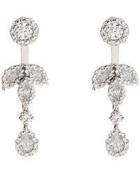YEPREM - Diamond Chandelier Drop Earrings - Lyst