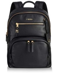Tumi - Leather Hagen Backpack - Lyst