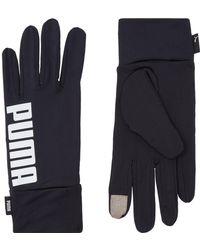 PUMA Performance Running Gloves - Black