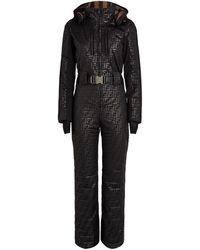 Fendi Printed Ski Suit - Black