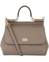 Dolce & Gabbana - Medium Sicily Top Handle Bag - Lyst