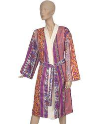 Etro Doubled Kimono Robe (large) - Red