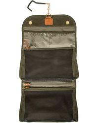 Bric's Tri-fold Wash Bag - Green