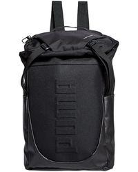 8a9f24c98f14 Lyst - PUMA Clip Duffle Bag in Black for Men