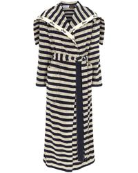 Loewe - X Paula's Ibiza Stripe Towel Coat - Lyst