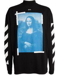 Off-White c/o Virgil Abloh Mona Lisa T-shirt - Black
