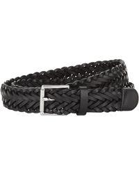 Sandro - Woven Leather Belt - Lyst