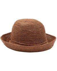 Helen Kaminski Provence Crochet Hat - Brown