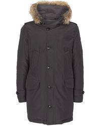 detailed look 2c4c9 be4eb Fur-trim Polar Parka - Gray