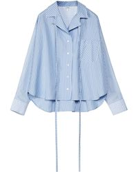 Loewe Cotton Striped Shirt - White