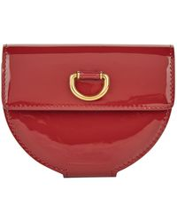 Burberry - Patent Leather D-ring Coin Purse - Lyst