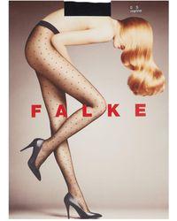 Falke Polka-dot Tights - Blue