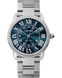 Cartier - Stainless Steel Ronde Solo De Watch 42mm - Lyst