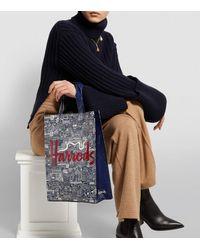 Harrods - Picture Font Medium Shopper Bag - Lyst