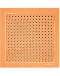 Polo Ralph Lauren - Geometric Pocket Square - Lyst