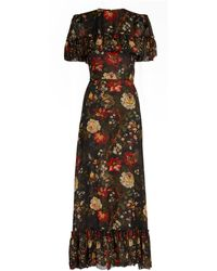 The Vampire's Wife - Silk Floral Bombette Dress - Lyst