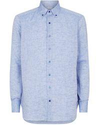 Zilli Linen Shirt - Blue