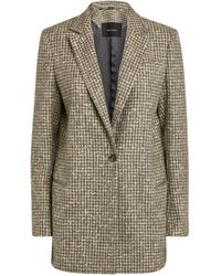 Kiton Tweed Blazer - Grey