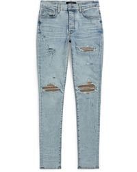 Amiri Skinny Distressed Jeans - Blue