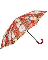 Burberry - Floral Print Umbrella - Lyst