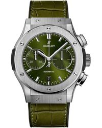 Hublot - Classic Fusion Titanium Chronograph Watch 45mm - Lyst