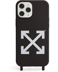 Off-White c/o Virgil Abloh Arrows Iphone 12 Pro Phone Case - Black