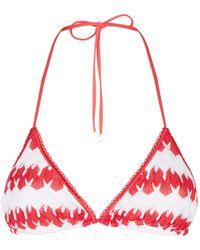 Missoni - Zig Zag Crochet Bikini Top - Lyst
