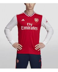 adidas Arsenal Home Long-sleeved Jersey - Red