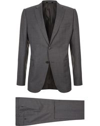 Armani | Broken Check Two-piece Suit | Lyst