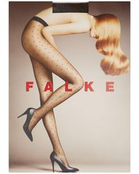 Falke Dotted 15 Tights - Brown