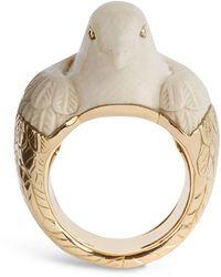 Bibi Van Der Velden Galaxy 18kt Gold, Diamond & Opal Ring in