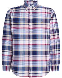 Polo Ralph Lauren Cotton Check Shirt - Blue
