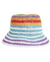 Missoni Striped Woven Bucket Hat - Multicolor