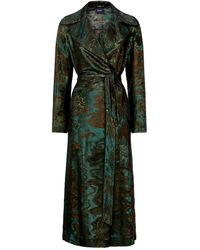 Akris - Tosh Wool-silk Jacquard Coat - Lyst