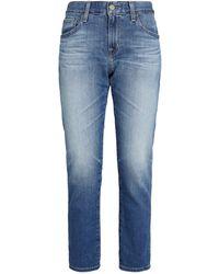 AG Jeans Ex-boyfriend Slim Jeans - Blue