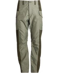 Reese Cooper Patched-front Cargo Pants - Green