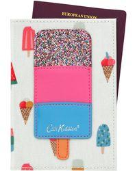 Cath Kidston - Ice Cream Passport Holder - Lyst
