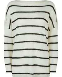 AllSaints - Misty Sweater, White, M - Lyst