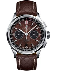 Breitling Premier B01 Chronograph 42 Bentley Centenary Limited Edition Watch 42mm - Brown