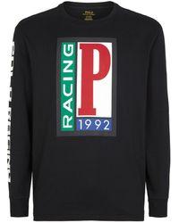 Ralph Lauren Polo Racing T-shirt - Black