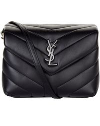 Saint Laurent Monogram Matelass Cross Body Bag - Black