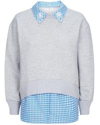 Claudie Pierlot - Layered Sweatshirt - Lyst