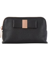 Ted Baker - Mini Raulph Bow Make-up Bag - Lyst