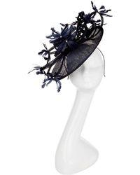 3b9d91775a4 Peter Bettley - Feather Flowers Fascinator Hat - Lyst