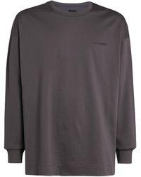 Juun.J Graphic Long-sleeved T-shirt - Grey