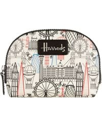 Harrods | Balloons And Bicycles Cosmetic Bag, White | Lyst