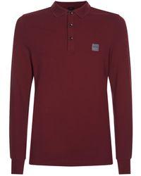 BOSS Orange - Logo Polo Shirt - Lyst